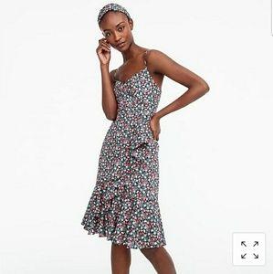 J. Crew Ruffle Dress in Sarah Liberty Floral, 10P